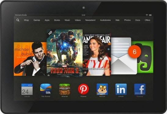 Transfer Video and Music files to Kindle Fire HDX from PC-Digitizing