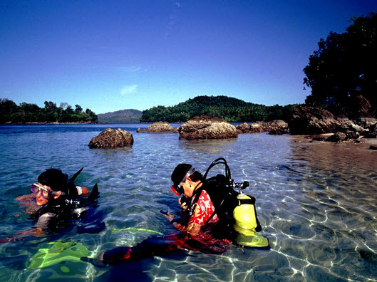 Snorkeling dan Diving di Iboih