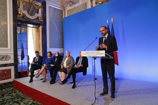Le premier ministre Edouard Philippe à Paris, le 12 juillet.— THOMAS SAMSON / AFP