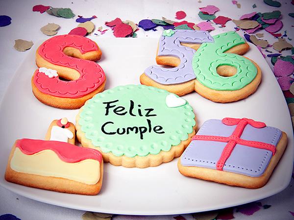 We Can Bake It Galletas Decoradas Con Fondant Para Cumpleaños