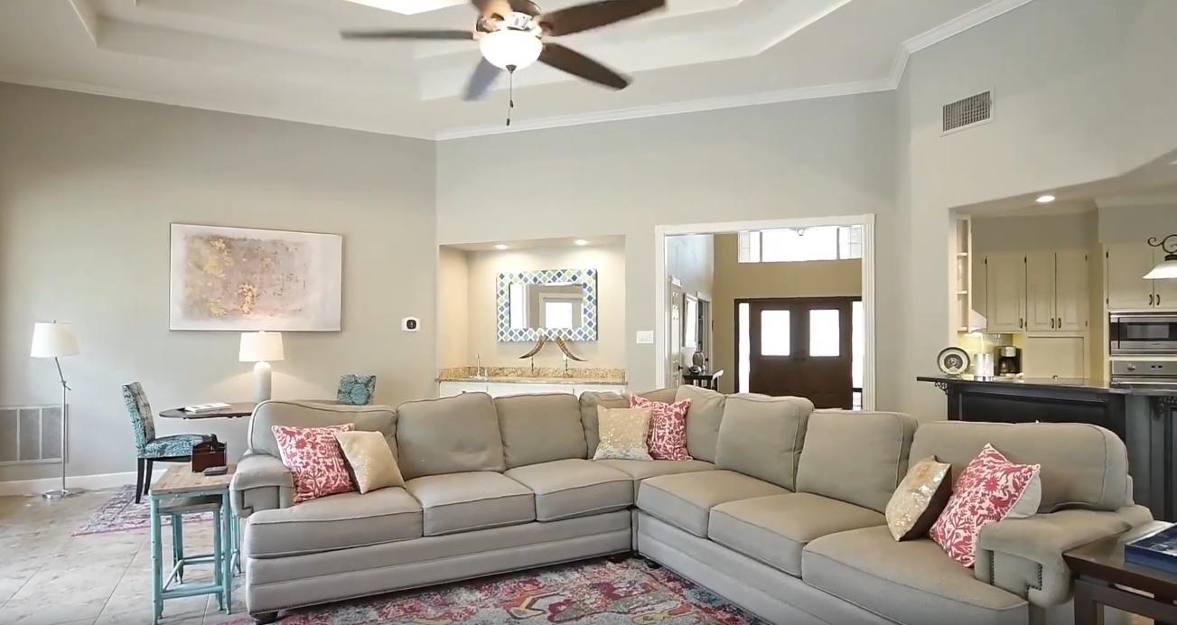 Home Interior Design Tour vs. 13 Ancient Bend, San Antonio, TX