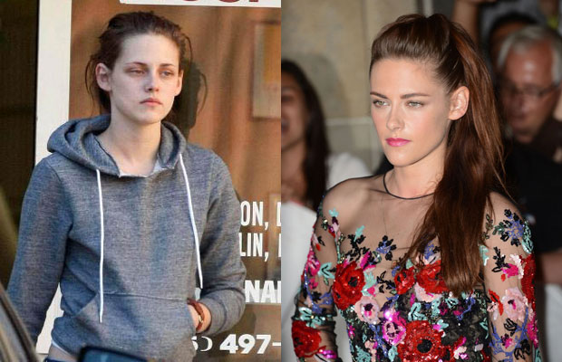 Kirsten Stewart without makeup