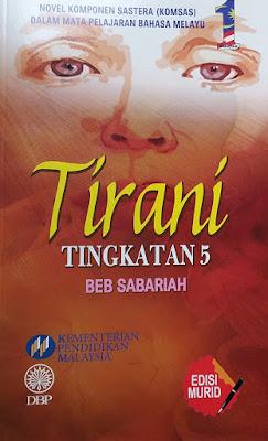 Sinopsi Novel Tirani Komsas Tingkatan 5