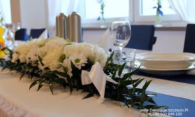 Pierwsza Komunia Święta dekoracja stołu