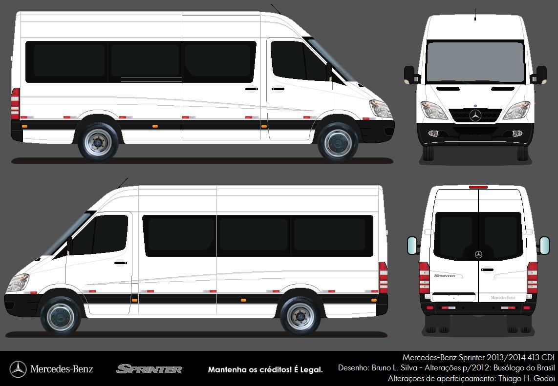 clube do nibus bus club mercedes benz sprinter 2013. Black Bedroom Furniture Sets. Home Design Ideas