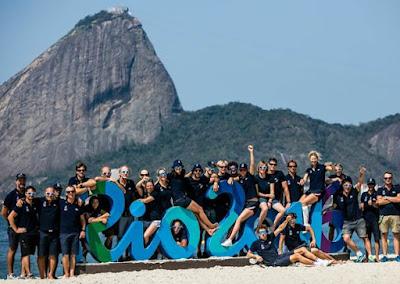 L'équipe de France de voile à Rio