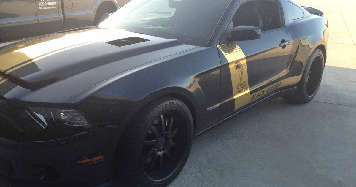 2013 Mustang Shelby Gt500 Super Snake Wide Body For Sale