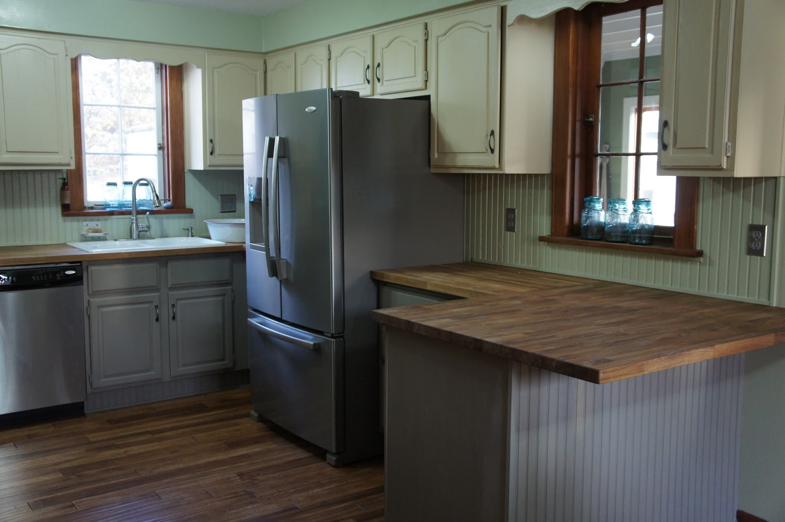 my kitchen cabinets with annie sloan painted kitchen cabinets My Kitchen Cabinets with Annie Sloan Chalk Paint
