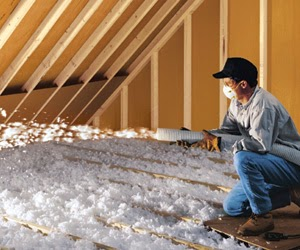 Attic Blow Insulation - Devere Insulation Home Performance