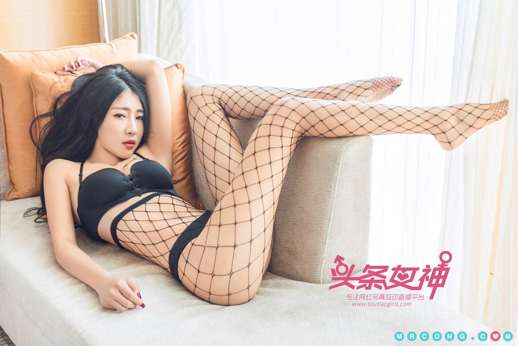 Image TouTiao-2017-10-05-Ru-Yi-MrCong.com-001 in post TouTiao 2017-10-05: Người mẫu Ru Yi (如意) (26 ảnh)