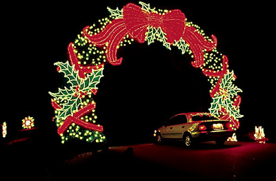 A southern daydreamer - Callaway gardens festival of lights ...