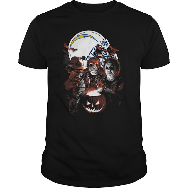 San Diego Chargers Halloween Scream Team Shirt