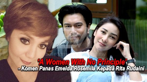 """A Women With No Principle"" - Komen Panas Emelda Rosemila Kepada Rita Rudaini"