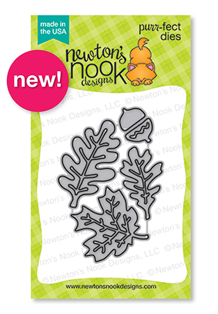 Autumn Leaves |  Die Set by Newton's Nook Designs #newtonsnook