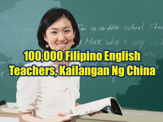 Four months ago, a news report said that an agreement between the government of China and the Philippines for the hiring of Filipino teachers was said to be on the way. (Refer to the inserted video below.)  Now, about 100,000 Filipino English teachers will benefit from the signed agreement as confirmed by DOLE Secretary Silvestre Bello III.  Advertisement        Sponsored Links         According to Sec. Bello, the expected salary of the teachers who will be hired for the job openings provided by the Chinese government will be $1,200 US dollars or P62,298 per month.  bello is confident that when it comes to English language proficiency, Filipino teachers are more than qualified and they are what the Chinese people want.    Philippine Ambassador to China Jose Santiago Sta. Romana said that China anticipated the need to learn the English language which conceived the idea of hiring English teachers from the Philippines.    The agreement is among the six which are signed during President Duterte's bilateral talks with Chinese President Xi Jin Ping.     The signed agreements were as follows: —Agreement on the Economic and Technical Cooperation between the Government of the Republic of the Philippines and the Government of the People's Republic of China  —Exchange of Letters on Phase III of the Technical Cooperation Project for the Filipino-Sino Center for Agricultural Technology  —Exchange of Letters for the Pre-Feasibility Study of the Proposed Davao City Expressway Project  —Exchange Letter for Broadcasting Equipment to the Presidential Communications Operations Office (PCOO) of the Philippines  —Memorandum of Understanding on the Employment of Filipino Teachers of English Language in China; and the  —Preferential Buyer's Credit Loan Agreement on the Chico River Pump Irrigation Project     Read More:  Classic Room Mates You Probably Living With    Do Not Be Fooled By Your Recruitment Agencies, Know Your  Correct Fees  Remittance Fees To Be Imposed On Kuwait Expats Expected To Bring $230 Million Income    TESDA Provides Training For Returning OFWs   Cash Aid To Be Given To Displaced OFWs From Kuwait—OWWA    Former OFW In Dubai Now Earning P25K A Week From Her Business    Top Search Engines In The Philippines For Finding Jobs Abroad    5 Signs A Person Is Going To Be Poor And 5 Signs You Are Going To Be Rich