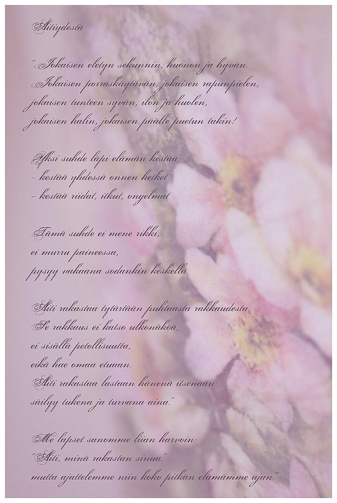 Runo äitiydestä