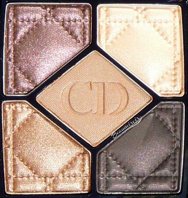 Dior 5 Couleurs Cuir Cannage Eyeshadow Palette #796
