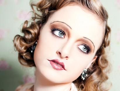 AllBeautyBrands: 1920s Flapper Makeup for Halloween