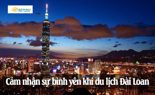 Cảm nhận sự bình yên khi du lịch Đài Loan