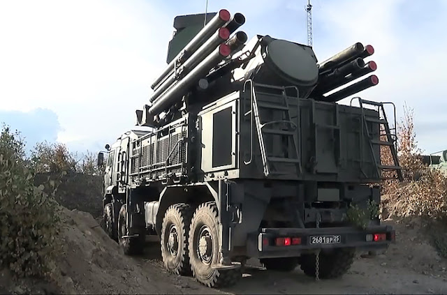 Image Attribute: Pantsir S Missile System / Source: Russian Defense Ministry Press service/TASS