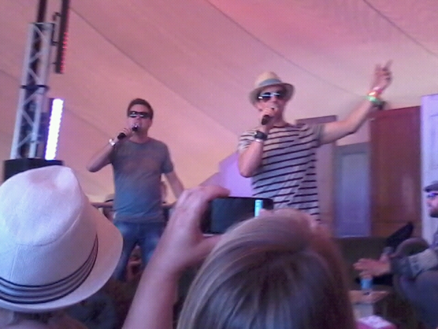 Dick n Dom at Camp Bestival