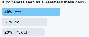 Ya gotta larf Poll2