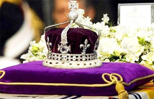 Britan invited India's decision on Kohinoor diamond