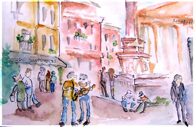 Rome Fast Sketch