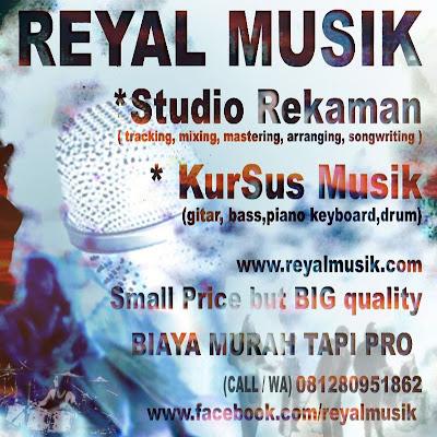 Studio Recording Murah & Kursus Les Gitar Piano Bass Drum Murah Di Jakarta Timur