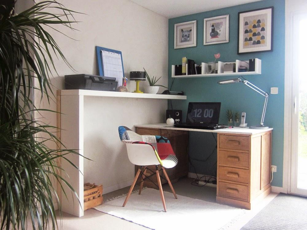am liorer l 39 espace bureau au 303 home deco. Black Bedroom Furniture Sets. Home Design Ideas