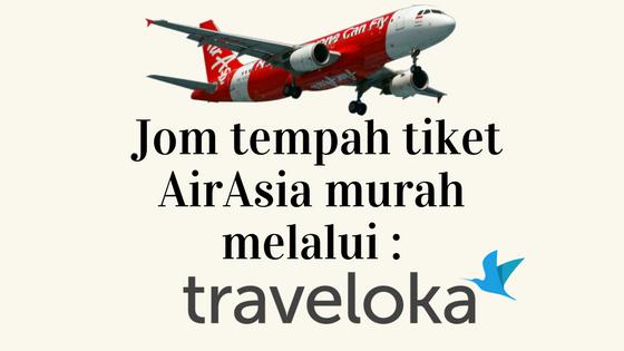 Perjalanan Lebih Selesa Semasa Bercuti dengan Penerbangan Air Asia