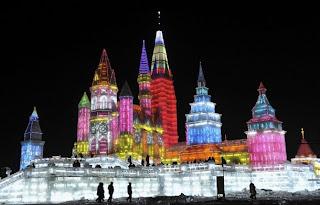 Harbin, la ciudad de hielo. En China. 3