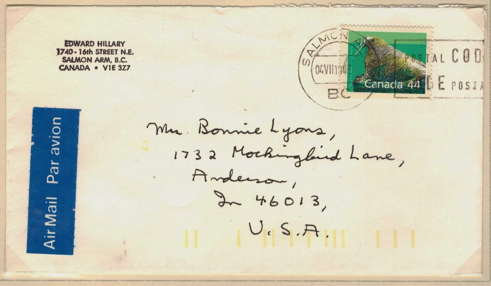 Postal History Corner: 3. United States Letter Rates: 1851 to the