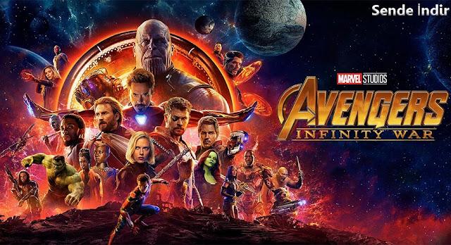 Avenger Infinity War - Yenilmezler 3 Sonsuz Savaşı İndir – Türkçe Dublaj 1080p - Sende İndir