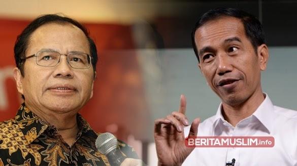 Rizal Ramli : Saya Minta Pak Jokowi Sportif Akui Kegagalannya!