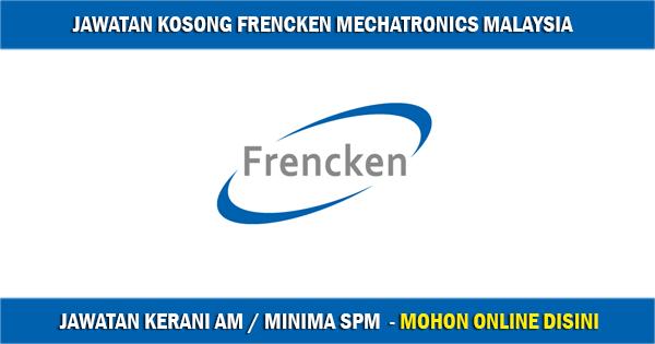 Jawatan Kosong di Frencken Mechatronics Malaysia