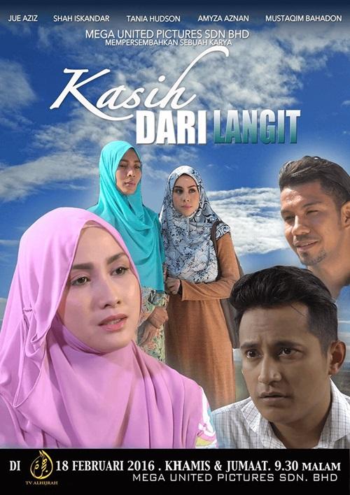 Sinopsis drama Kasih Dari Langit TV AlHijrah, pelakon dan gambar drama Kasih Dari Langit TV AlHijrah