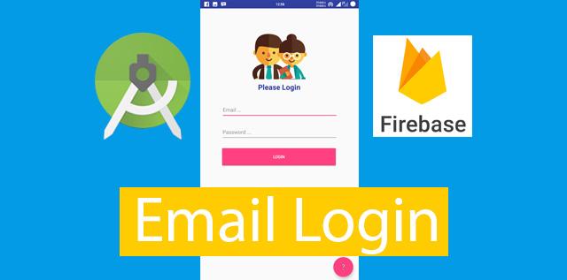 Membuat Login Email di Android Studio dengan Firebase