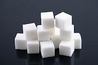 Bir miktar kesme küp şeker