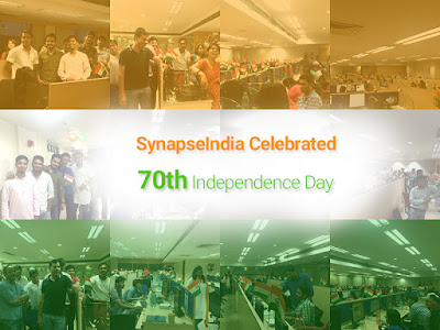 SynapseIndia Celebrations - 70th Independence Day 2016