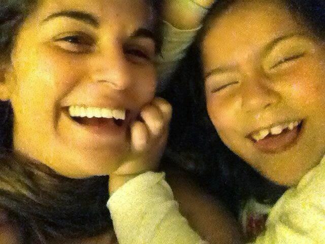 Eu e Ela. Criando memórias felizes.