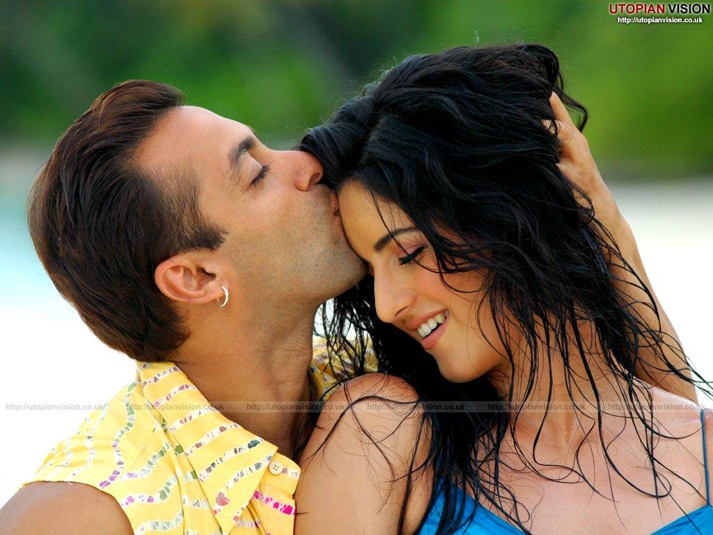 Free Wallpapers Katrina Kaif With Salman Khan-2987