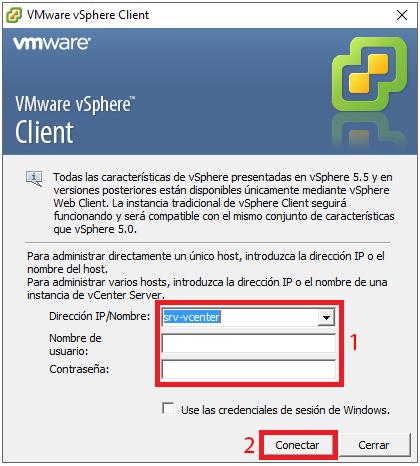 VMware vSphere Client 6.0