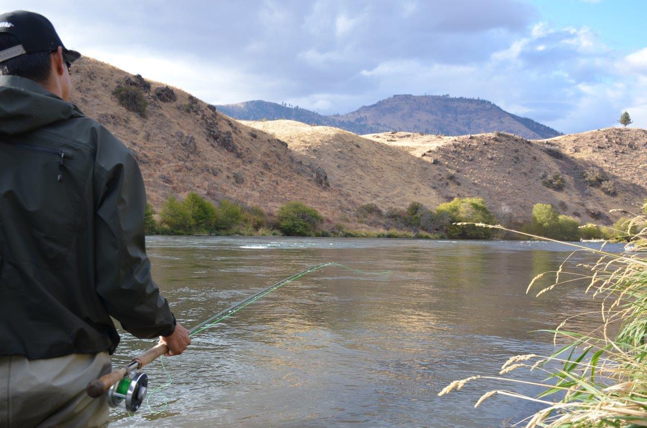 The Deschutes River Fall Steelhead Experience – Water Time
