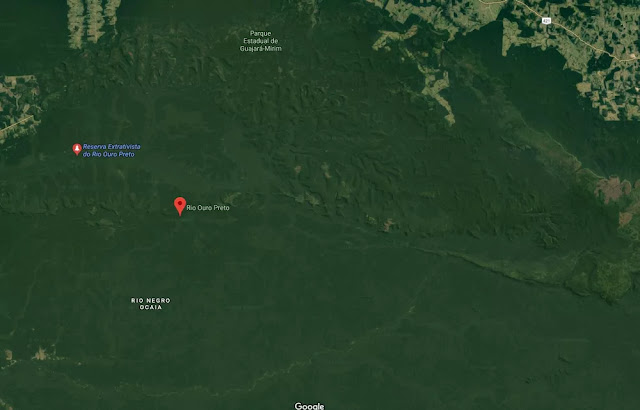 Ladrões rendem vigilante e roubam lancha e motores do ICMBio em Guajará