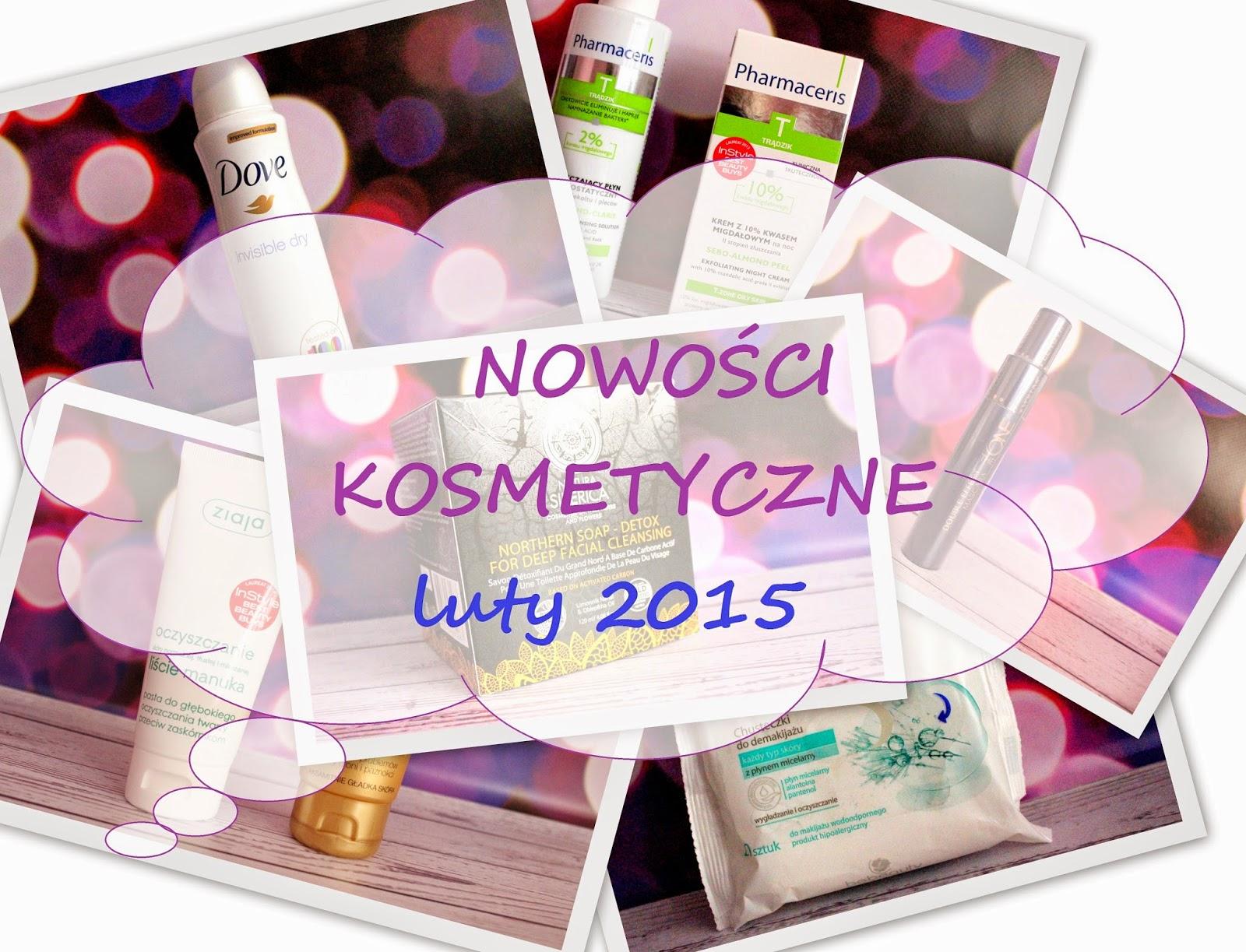 Nowości kosmetyczne #luty 2015