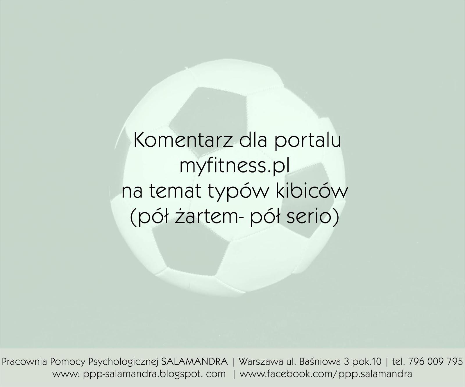 Najbardziej irytujące typy kibiców piłkarskich - komentarz psychologa dla myfitness.pl