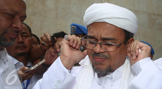 Imam  Besar FPI Rizieq Shihab Kapok Lantaran Kena Tabok Makiannya Sendiri