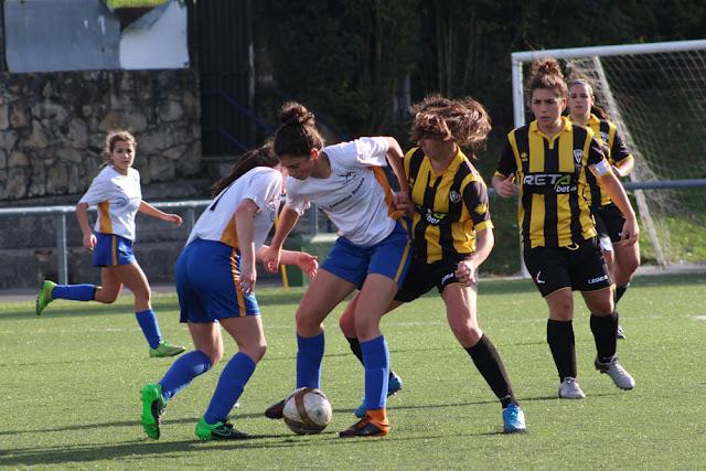 Liga Vasca | Barakaldo CF y Pauldarrak B ofrecen una tarde fútbol en La Siebe y Serralta