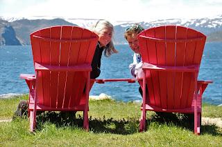 Janie & Brian's selfie in Newfoundland. Photograph by Janie Robinson, Travel Writer